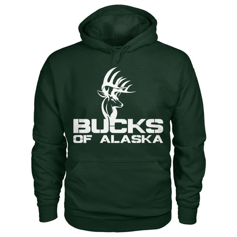 Image of Bucks of Alaska  Gildan Hoodie - Bucks of America