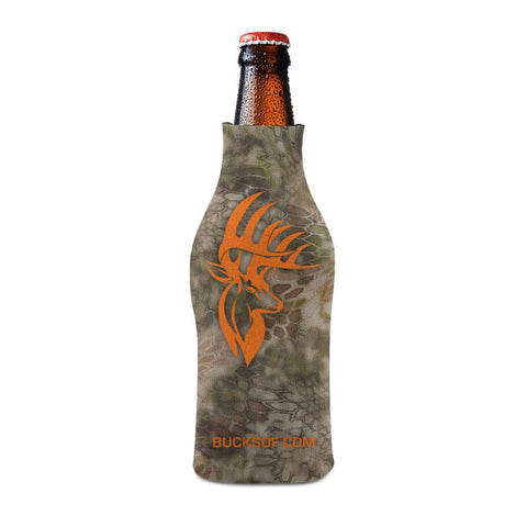 Image of Bucks of America Bottle Koozie Orange / Camo - Bucks of America