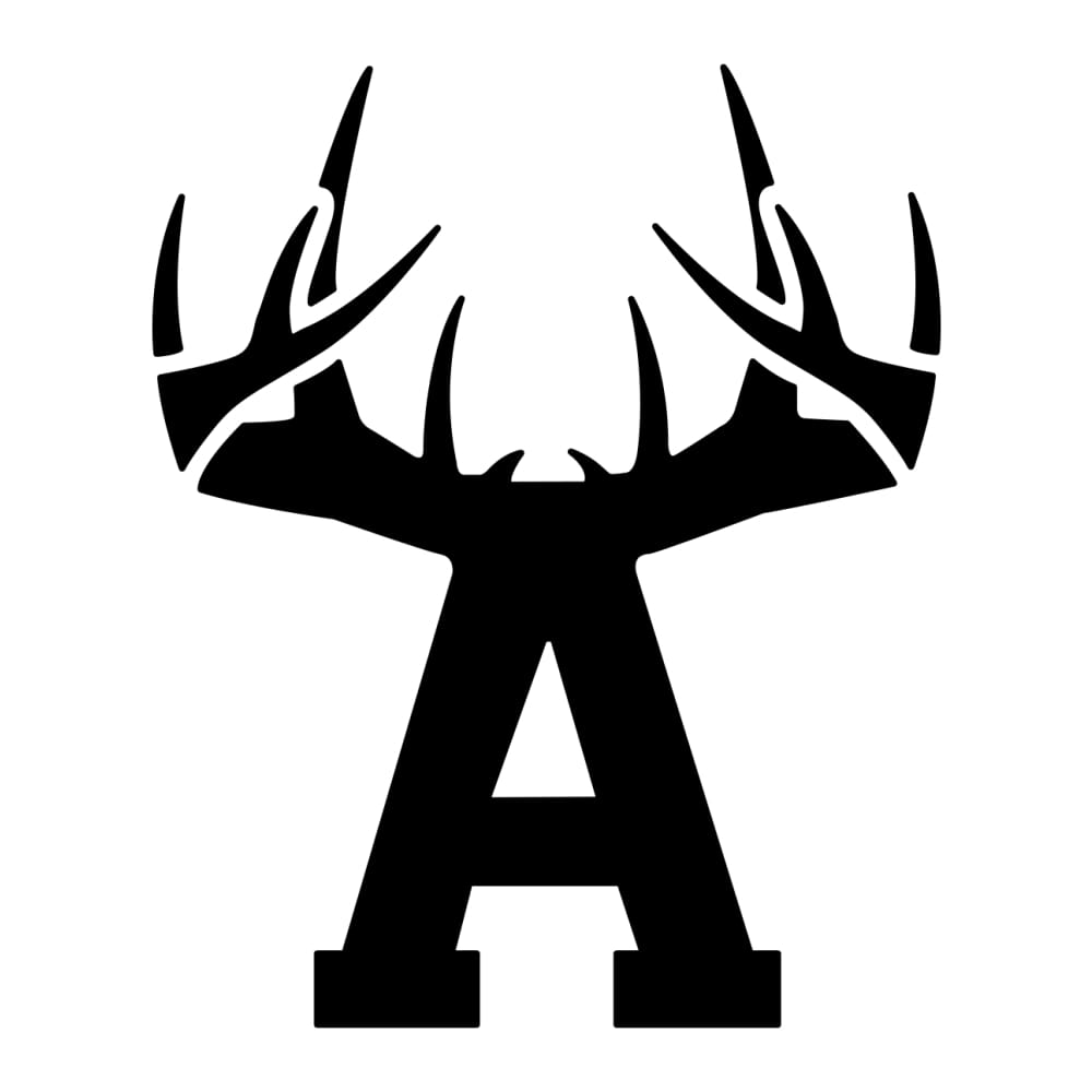 Bucks of Arkansas Decal - Black - Bucks of America