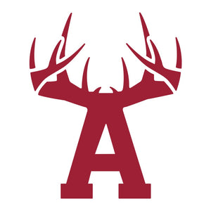 Bucks of Arkansas Decal - Maroon & White - Bucks of America