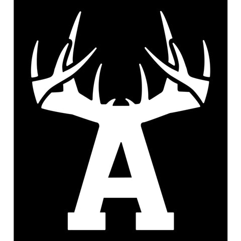 Bucks of Arkansas Decal - White - Bucks of America