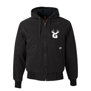 Bucks of Georgia DriDuck Hooded Canvas Jacket - Bucks of America