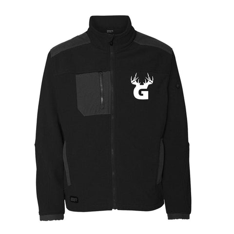 Bucks of Georgia Microfleece Zip Jacket - Bucks of America