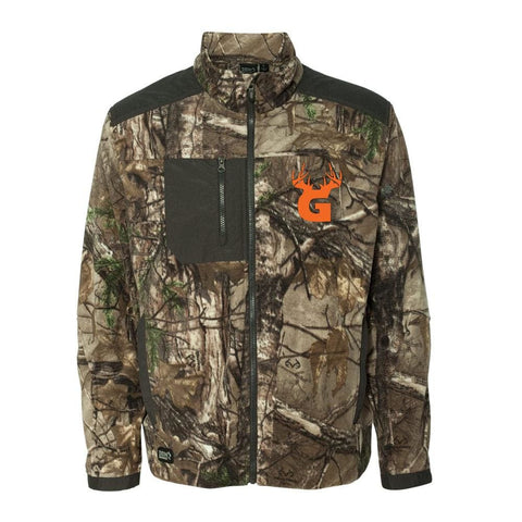 Image of Bucks of Georgia Microfleece Zip Jacket - Bucks of America