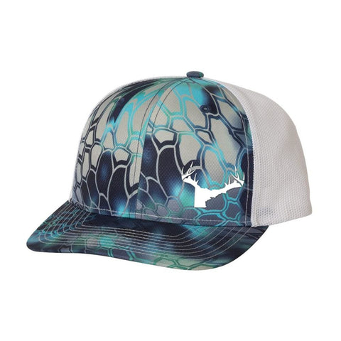 Bucks of Idaho Antler Logo Hat - Kryptek Camo - Bucks of America