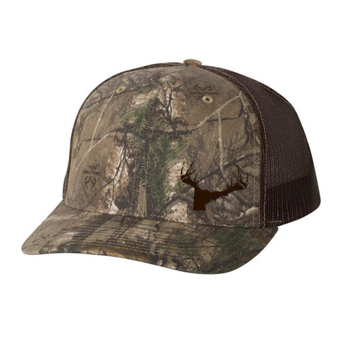 Bucks of Idaho Antler Logo Hat - RealTree Camo - Bucks of America