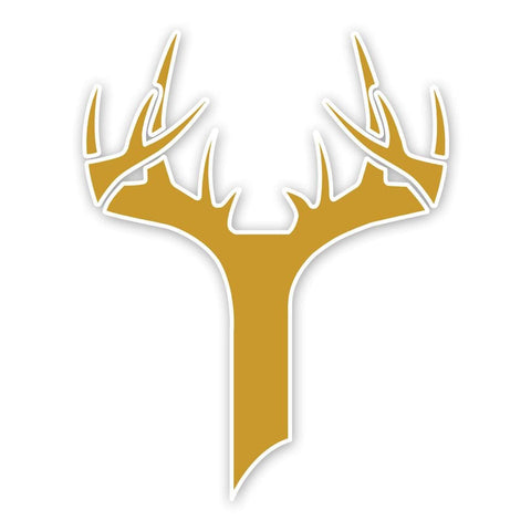 Bucks of Indiana Decal - Gold - Bucks of America