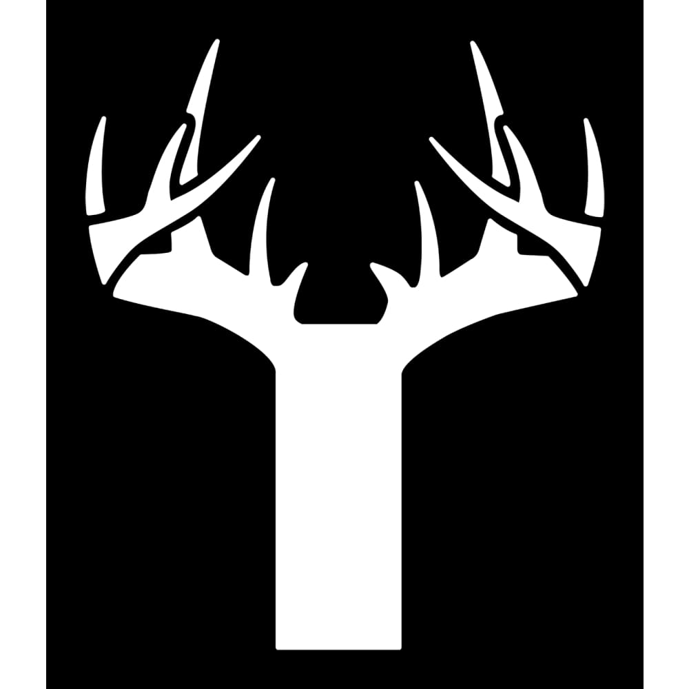 Bucks of Iowa Decal - White - Bucks of America