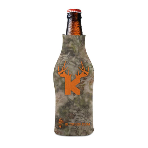 Bucks of Kansas Bottle Koozie Orange / Camo - Bucks of America