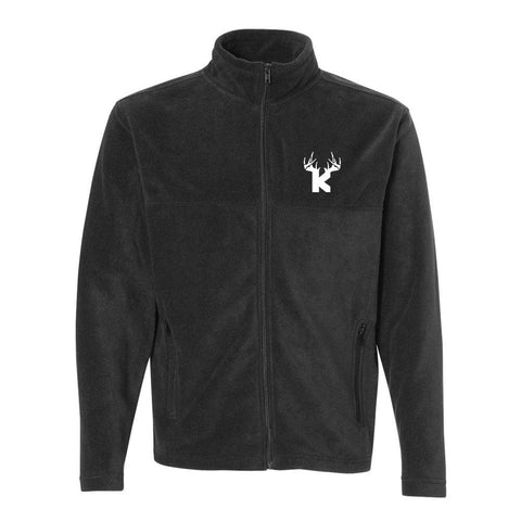 Bucks of Kansas Fleece Zipup Jacket - Bucks of America