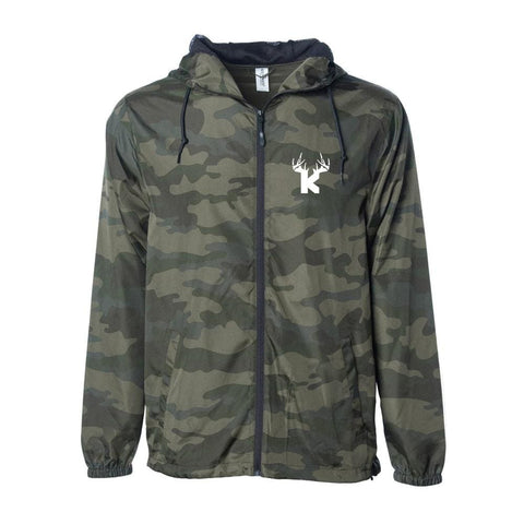 Bucks of Kansas Light Windbreaker - Bucks of America