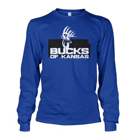 Bucks of Kansas Logo Unisex Long Sleeve - Bucks of America