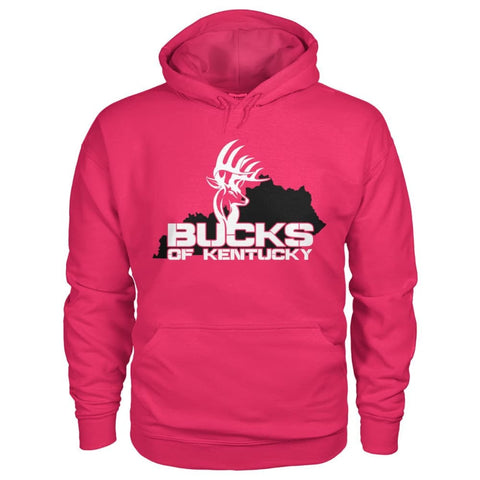 Bucks of Kentucky  - Adult Hoodie - Kentucky with Buck - Bucks of America