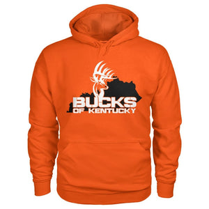 Bucks of Kentucky  - Adult Hoodie - Kentucky with Buck