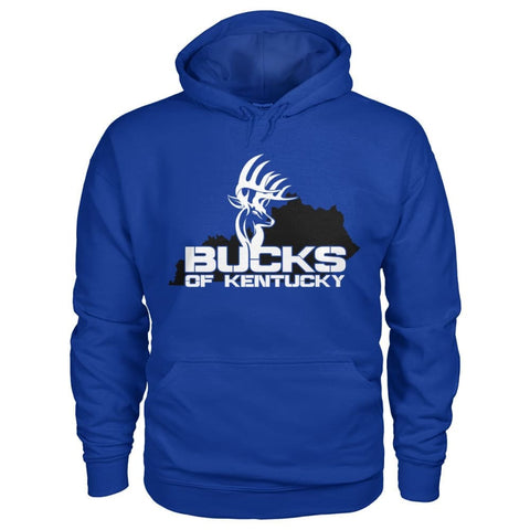 Image of Bucks of Kentucky  - Adult Hoodie - Kentucky with Buck - Bucks of America