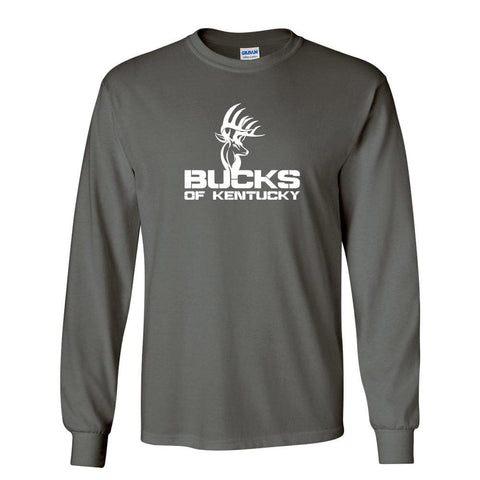 Bucks of Kentucky Full Logo Long Sleeve Shirt - Bucks of America