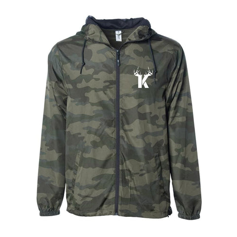 Bucks of Kentucky Light Windbreaker - Bucks of America