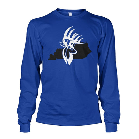 Bucks of Kentucky with State Unisex Long Sleeve - Bucks of America
