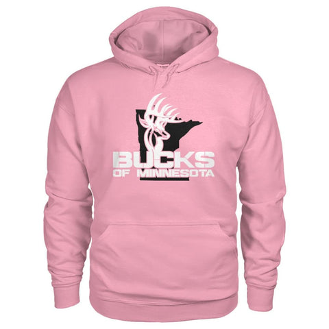 Bucks of Minnesota Logo Gildan Hoodie - Bucks of America