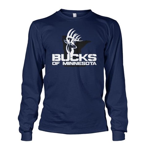 Bucks of Minnesota Logo Unisex Long Sleeve - Bucks of America