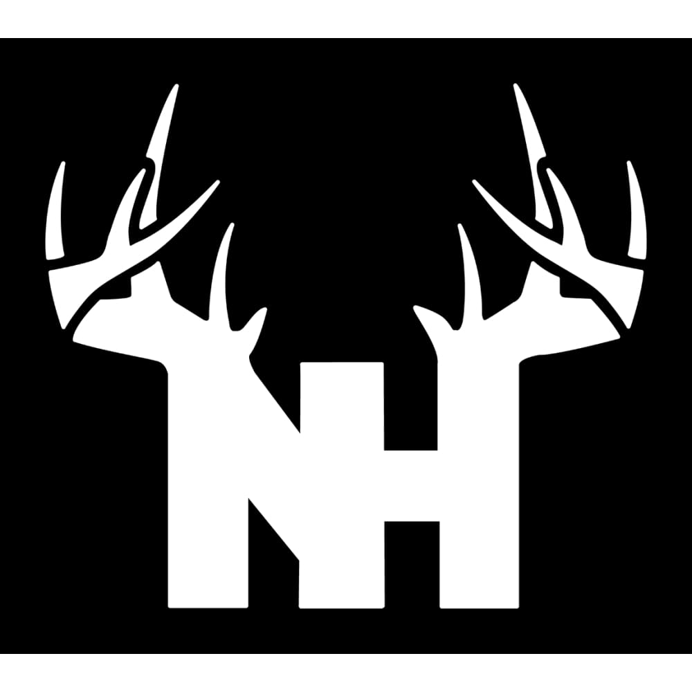 Bucks of New Hampshire Decal - White - Bucks of America