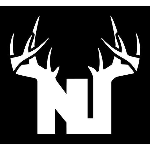Bucks of New Jersey Decal - White - Bucks of America