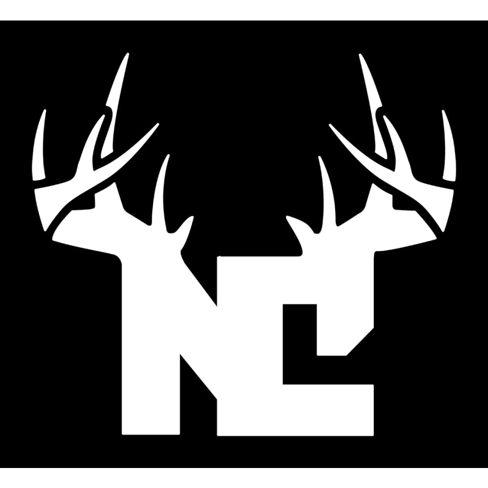 Bucks of North Carolina Decal - White - Bucks of America