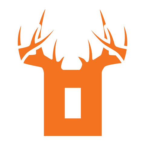 Bucks of Ohio Decal - Orange & White - Bucks of America