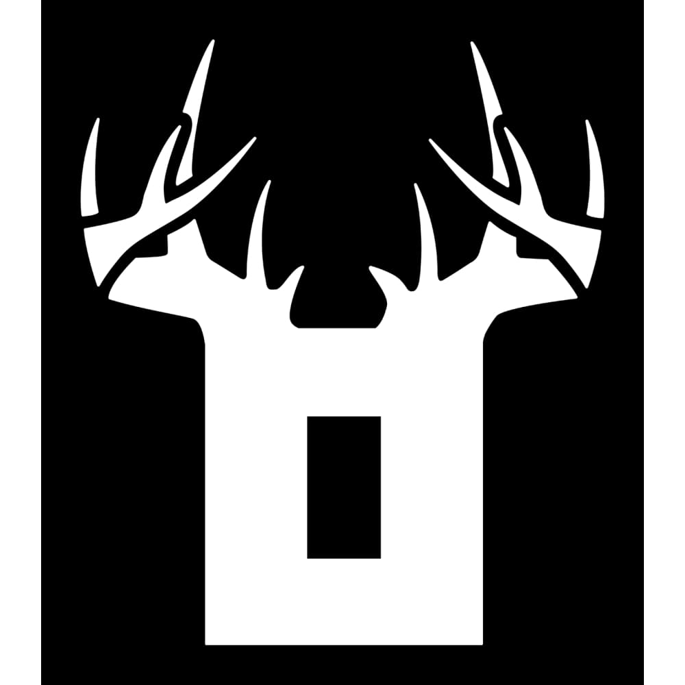 Bucks of Ohio Decal - White - Bucks of America