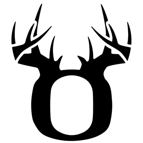 Image of Bucks of Oregon Decal - Black - Bucks of America