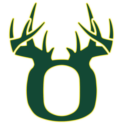 Bucks of Oregon Decal - Green & Yellow - Bucks of America