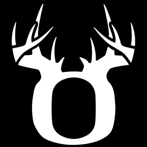 Bucks of Oregon Decal - White - Bucks of America