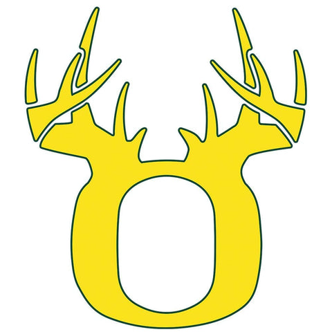 Bucks of Oregon Decal - Yellow & Green - Bucks of America