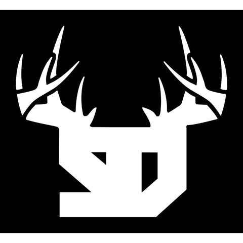 Bucks of South Dakota Decal - White - Bucks of America