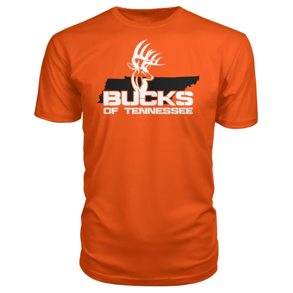 Bucks of Tennessee Logo Premium Unisex Tee - Bucks of America