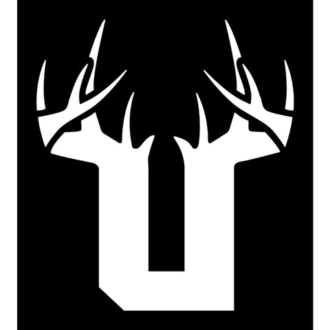 Bucks of Utah Decal - White - Bucks of America