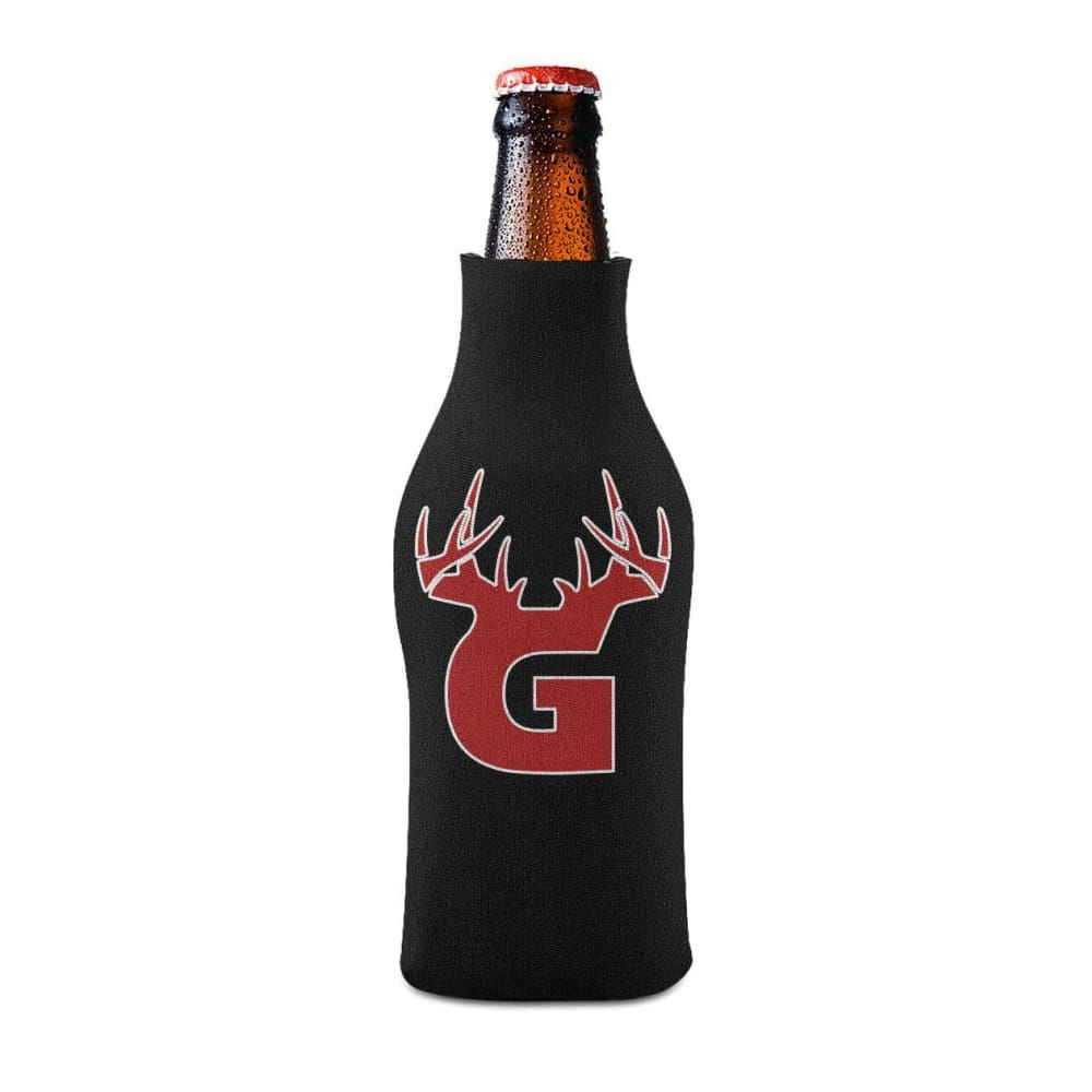 G Antler Bottle Koozie Bottle Sleeve - Bucks of America