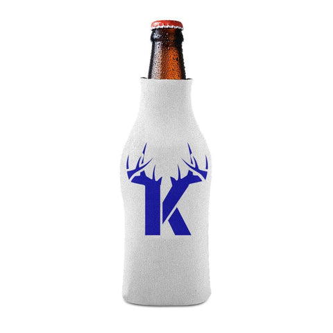 K Antler Blue Bottle Koozie Bottle Sleeve - Drinkware
