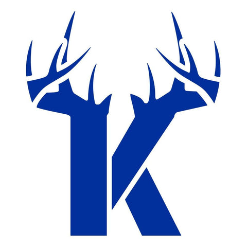 K Antler Decal - Blue - Bucks of America