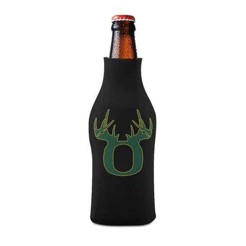 O Antler Yellow/Green Bottle Koozie Bottle Sleeve - Drinkware