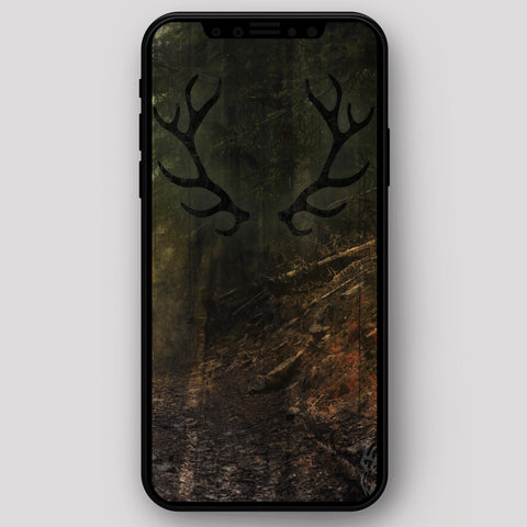 Image of Bucks Hat Co Elk Hunter iPhone Wallpaper FREE Digital Download