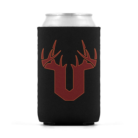 V Antler Orange/Red Can Sleeve - Drinkware