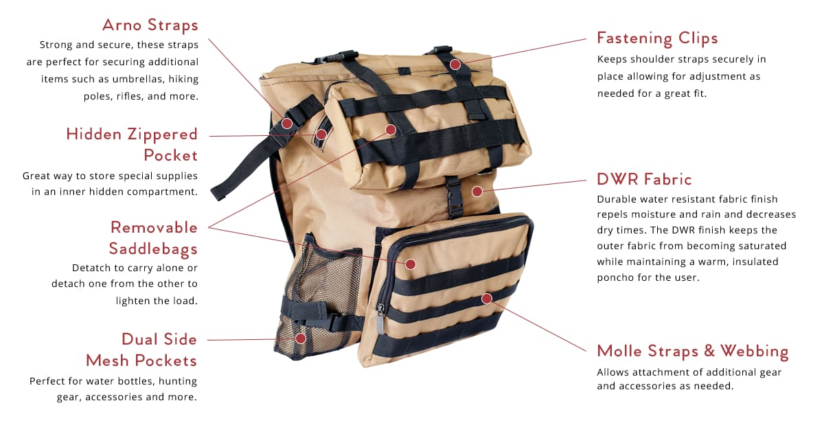RM Pack for Outdoorsmen