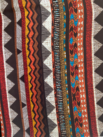 Brown Multi Aztec