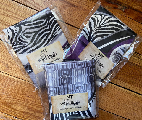 Gray/Blk/Purple Animal Print
