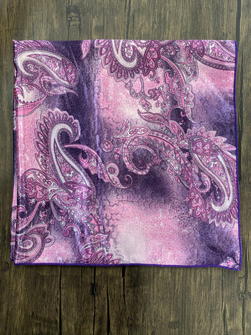 Purple & Pink Paisley