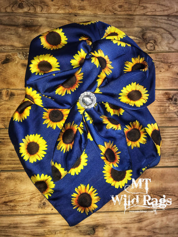 Navy Sunflower