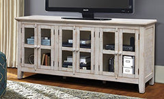 "Milos 70"" Disstressed TV Stand"
