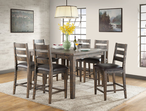 Glenwood Extendable Dining Table Pub and Chairs