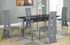 Image of Glass Top Dining Set